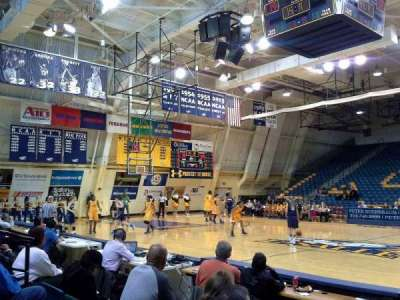 Tom Gola Arena, section: W2, row: 4