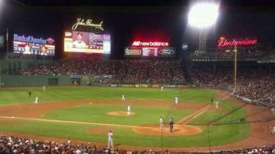 Fenway Park, section: Grandstand 23, row: 12, seat: 6