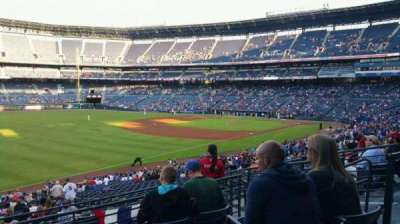 Turner Field, section: 224L, row: 5, seat: 8