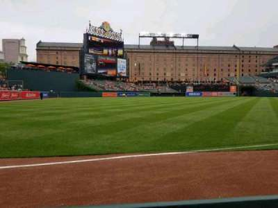Oriole Park at Camden Yards, section: 68, row: 1, seat: 9