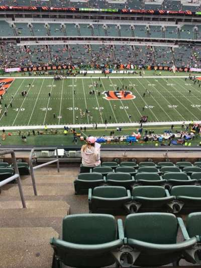 Paul Brown Stadium section 311