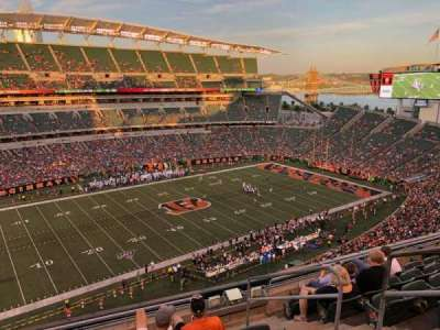 Paul Brown Stadium section 314