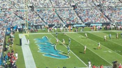 Bank of America Stadium section 349
