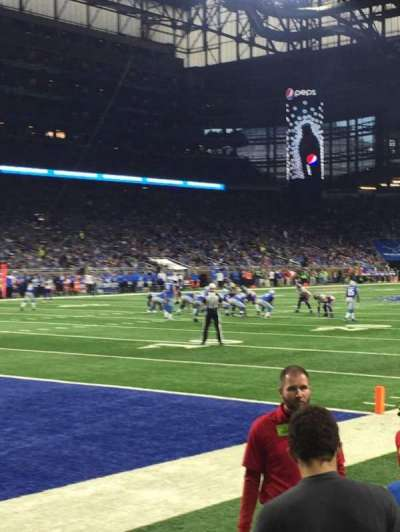 Ford Field section 120