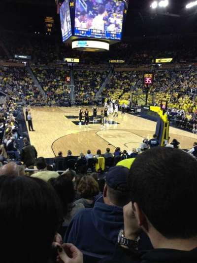 Crisler Center, section: 116, row: 12, seat: 4