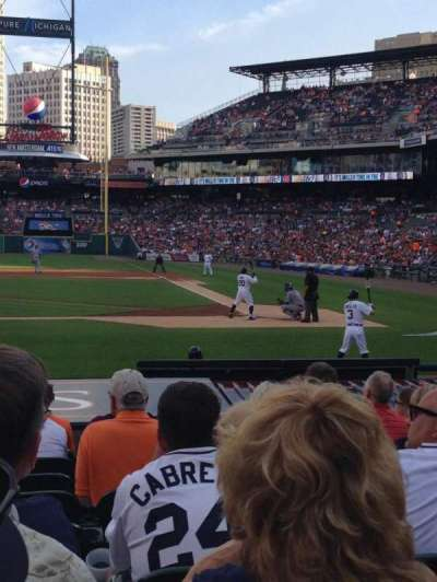 Comerica Park, section: 131, row: 10, seat: 10
