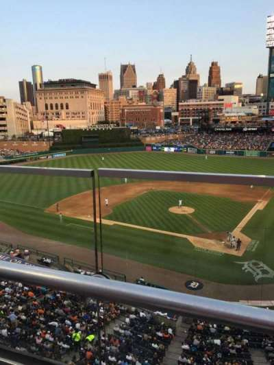Comerica Park, section: 328, row: A, seat: 1
