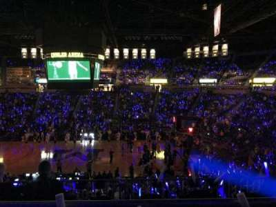 Crisler Center, section: 223, row: 2, seat: 4