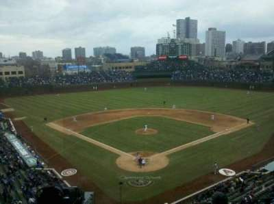 Wrigley Field, section: 421, row: 5, seat: 4