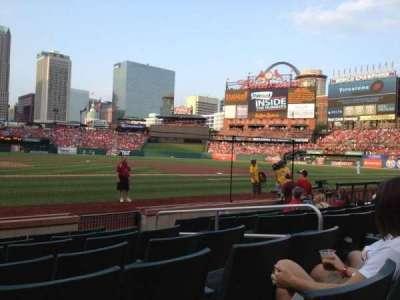 Busch Stadium, section: 2, row: G, seat: 9