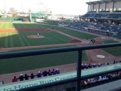 Haymarket Park, section: 217, row: 1, seat: 20