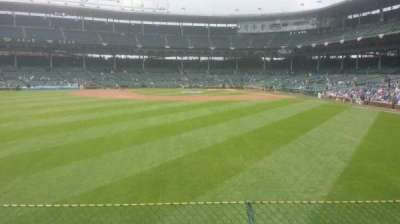 Wrigley Field section 502