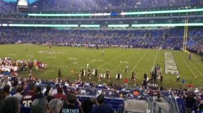 M&T Bank Stadium, section: 150, row: 28, seat: 1