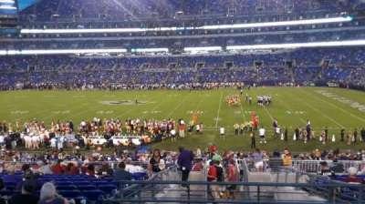 M&T Bank Stadium, section: 152, row: 32, seat: 1