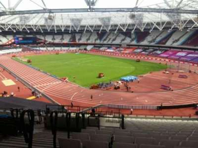 London Stadium, section: 216, row: 51, seat: 175-177