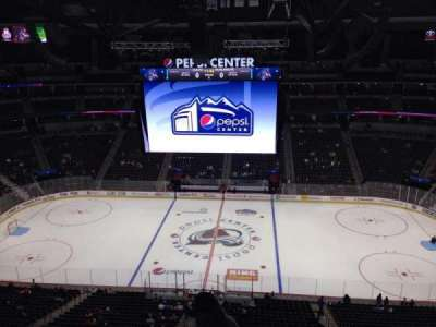 Pepsi Center, section: 342, row: 10, seat: 1