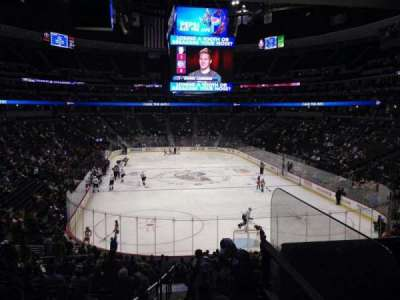 Pepsi Center, section: 138, row: 20, seat: 1