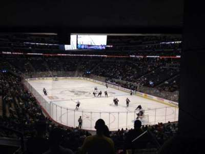 Pepsi Center, section: 116, row: 20, seat: 1