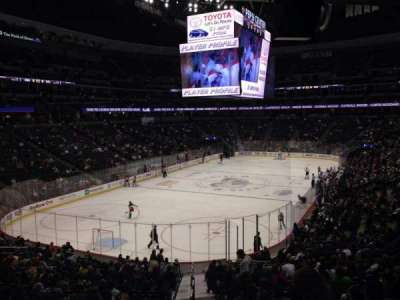 Pepsi Center, section: 108, row: 20, seat: 1