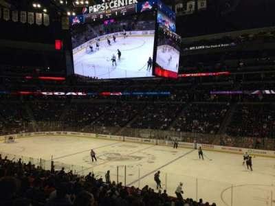 Pepsi Center, section: 144, row: 20, seat: 1