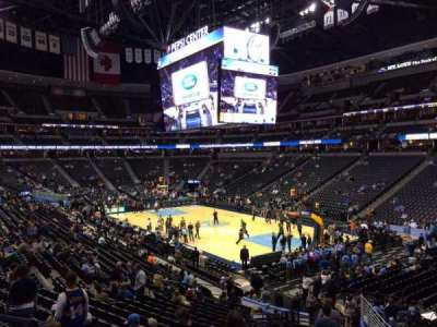 Pepsi Center, section: 142, row: 22, seat: 20