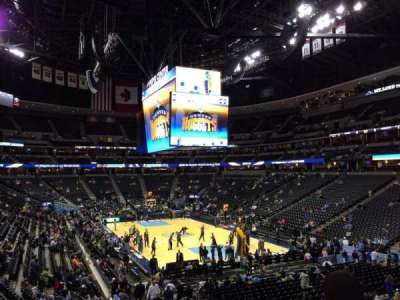 Pepsi Center, section: 140, row: 22, seat: 18