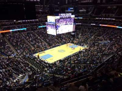 Pepsi Center, section: 312, row: 12, seat: 1
