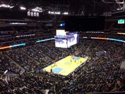 Pepsi Center, section: 316, row: 12, seat: 1