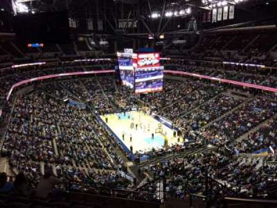 Pepsi Center, section: 328, row: 12, seat: 1