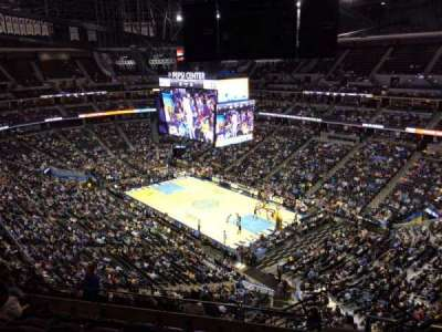 Pepsi Center, section: 332, row: 12, seat: 1
