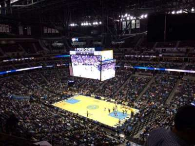 Pepsi Center, section: 334, row: 12, seat: 1