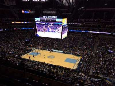 Pepsi Center, section: 338, row: 10, seat: 1