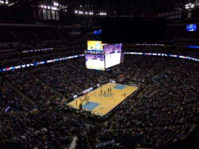 Pepsi Center, section: 356, row: 12, seat: 1