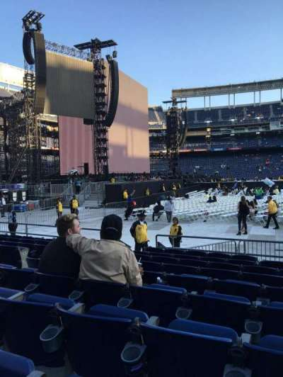 Qualcomm Stadium, section: F5, row: 9, seat: 7