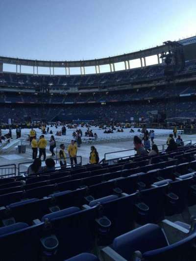 Qualcomm Stadium, section: F5, row: 9, seat: 6,7