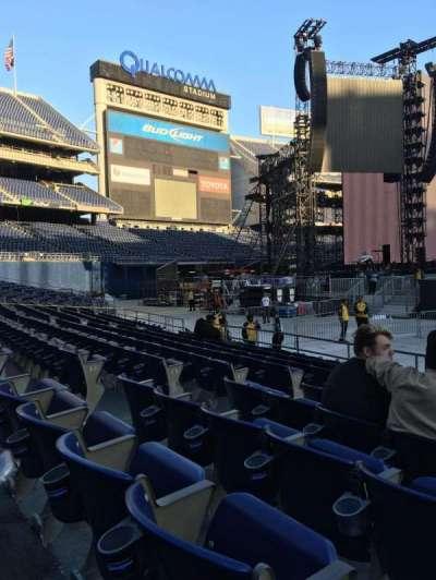 SDCCU Stadium, section: F5, row: 9, seat: 6,7