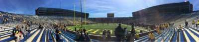 Michigan Stadium section 33
