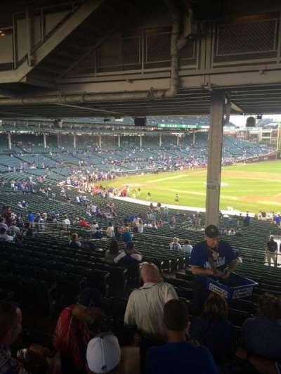 Wrigley Field, sección: 231, fila: 18, asiento: 5