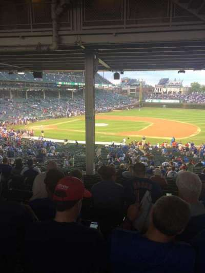 Wrigley Field, section: 231, row: 18, seat: 6