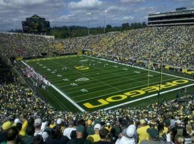 Autzen Stadium, section: 24, row: 60, seat: 6