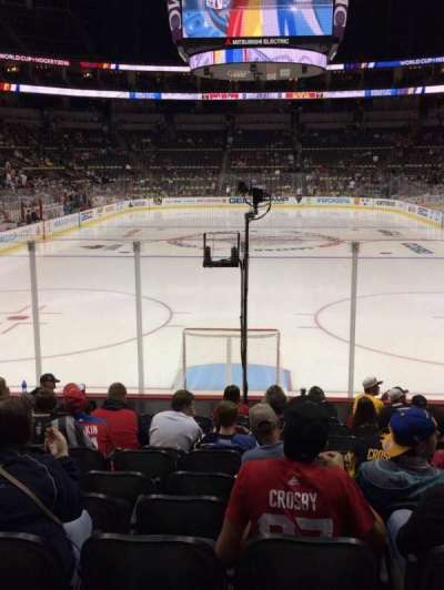 PPG Paints Arena, section: 118, row: L, seat: 5