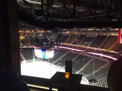 T-Mobile Arena section Hyde Tables