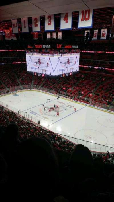 Little Caesars Arena, section: 208, row: 4, seat: 13