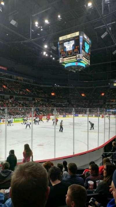 Van Andel Arena, section: 112, row: G, seat: 11