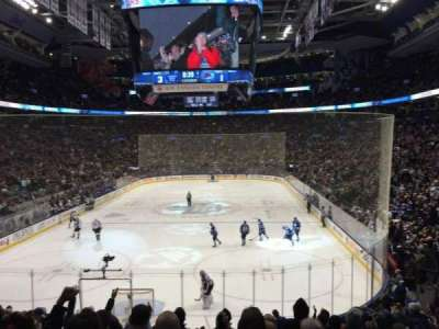 Air Canada Centre, section: 113, row: 21, seat: 9