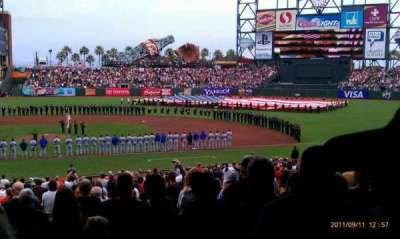 AT&T Park, section: 108