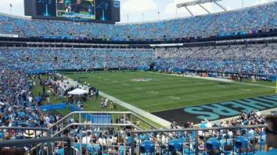 Bank of America Stadium, section: 233, row: 4, seat: 20