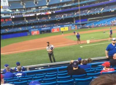 Rogers Centre, section: 127L, row: 8, seat: 107
