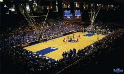 Cameron Indoor Stadium, section: 32, row: G, seat: 18