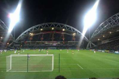 John Smith's Stadium, row: K, seat: 69